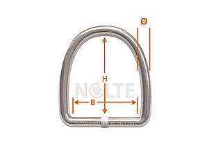 D-ring / Semi-circular rings